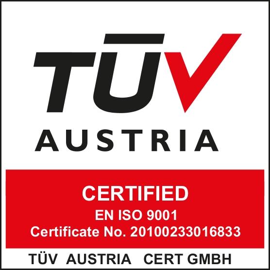 Aadhira TUV ISO Logo
